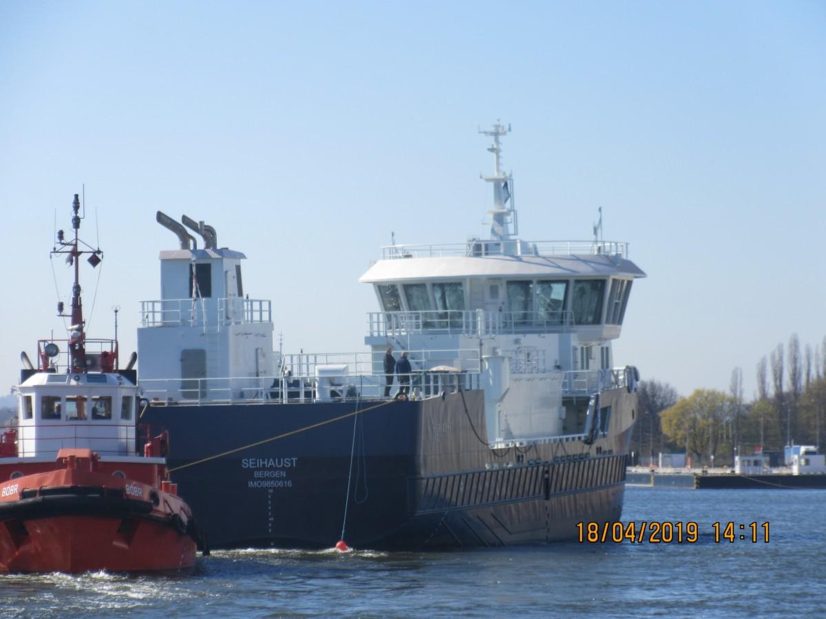Nordmeerfahrer auf der Wisla