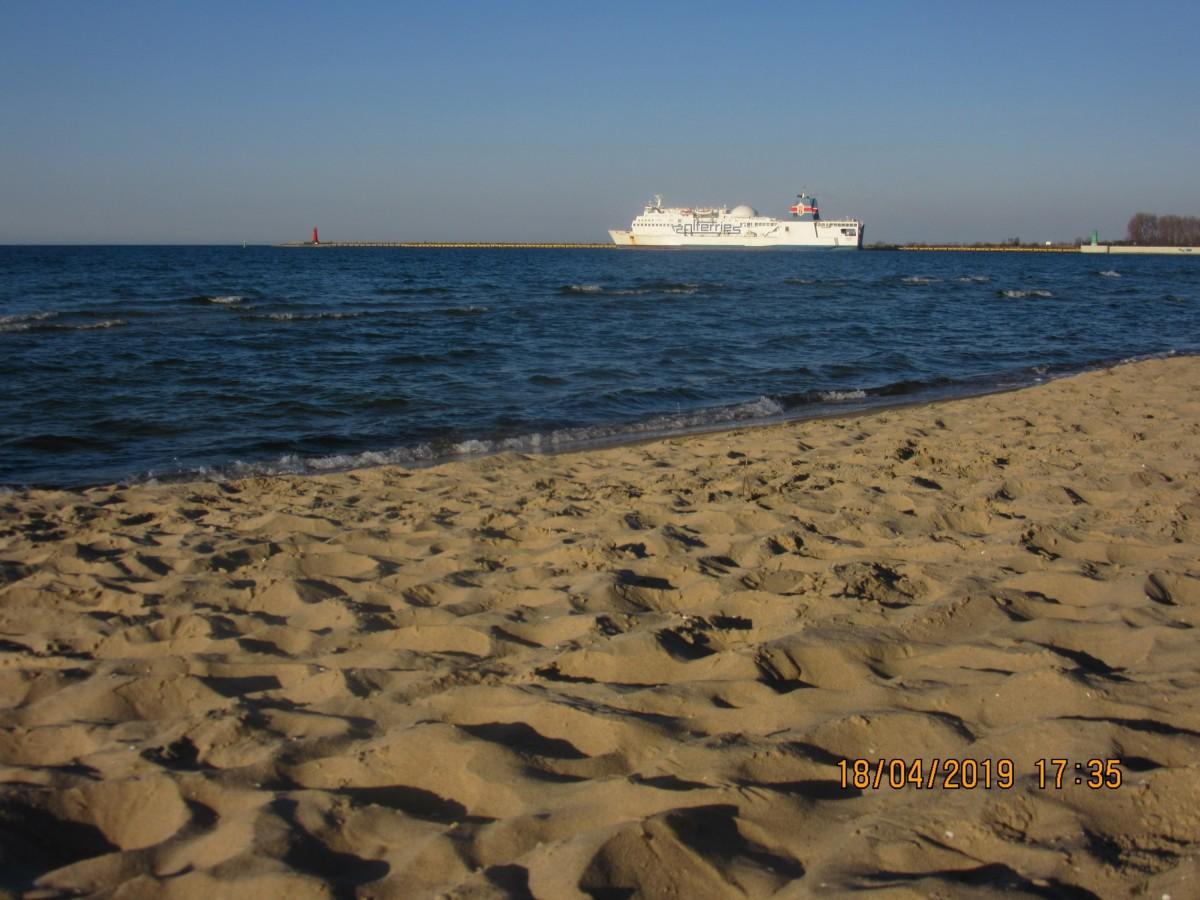 Am Strand in Brzezno